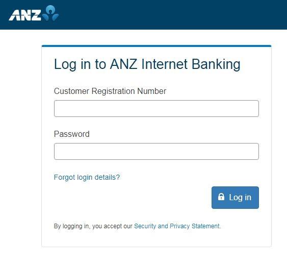 ANZ Bank Online Login