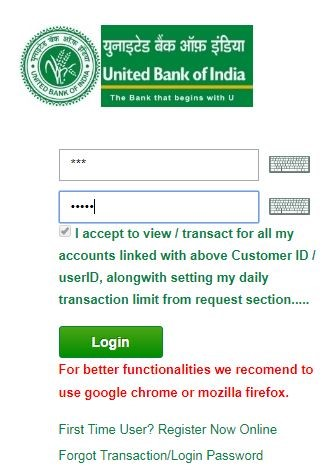 United Bank Login and Reset