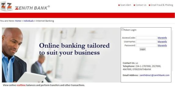 Zenith Bank Online Login