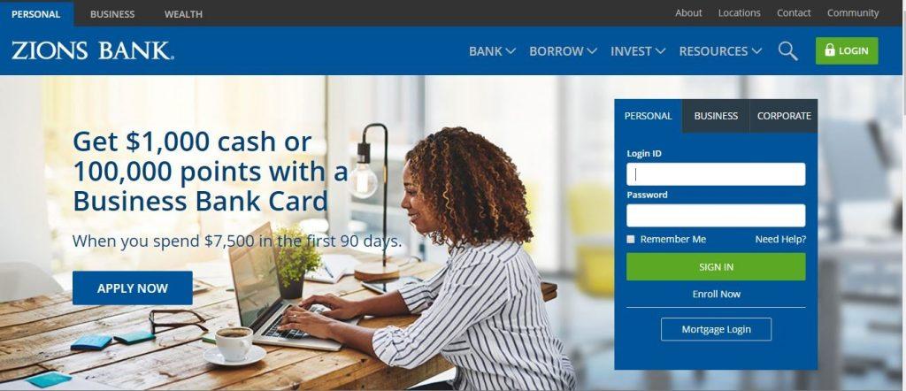 Zions Bank Online Login