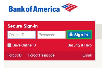 Transfer Balance in Bank of America