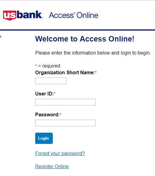 US Bank Corporate Card Login